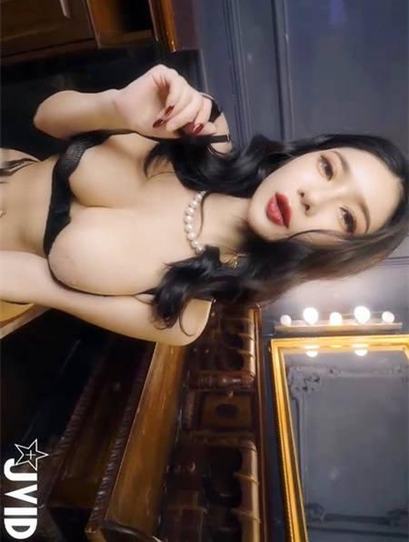 百老汇女伶「沈琪琪 77」后台调情撩的你不要不要 JVID