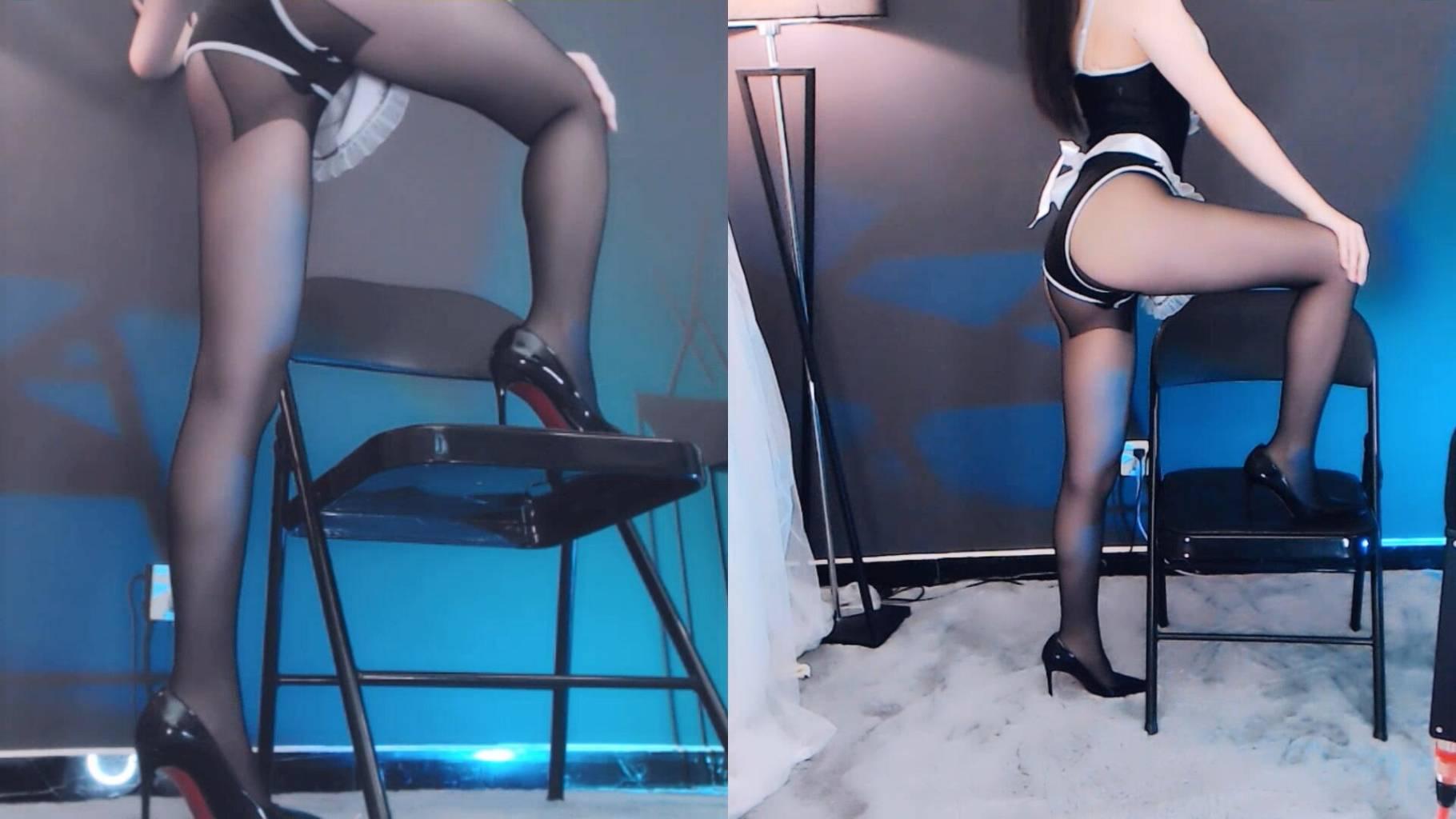 酱紫主播女仆装秀秀大长腿