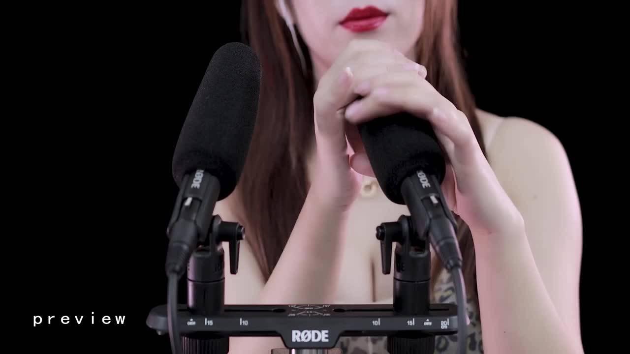 嘴巴各种模拟·旋转v按压·能让你远程颅内高潮4K – 晓晓小UP ASMR