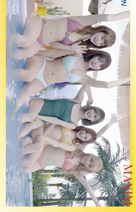 三上悠亚带领Honey Popcorn成员发行第二张K-pop专辑!