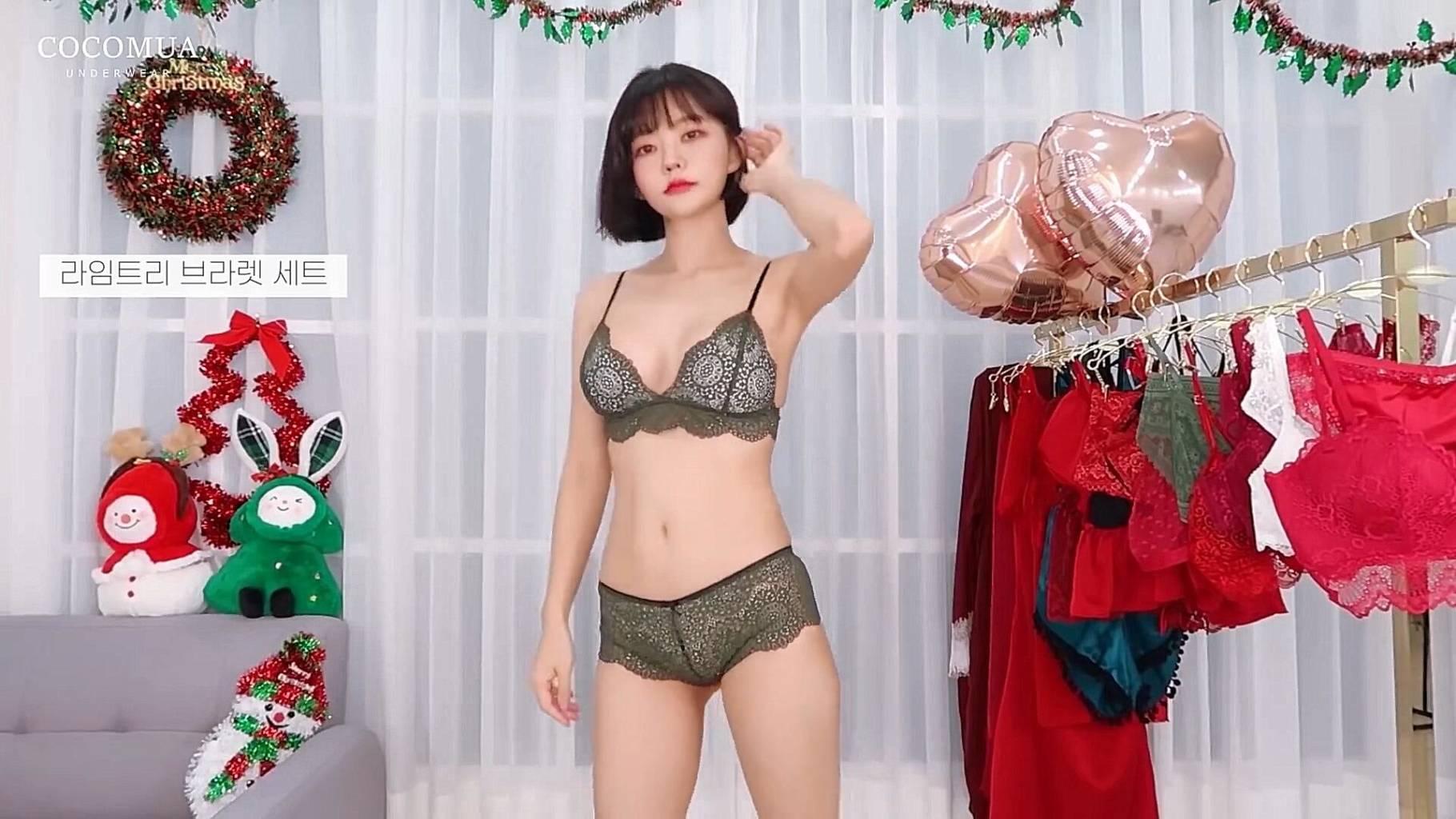 韩国妹妹换衣秀这身材不摆了