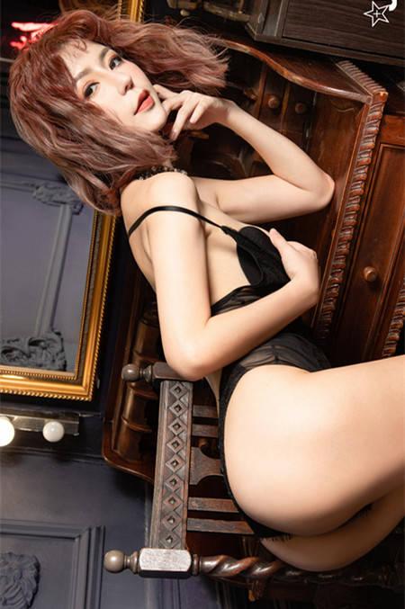 魅惑女伶「Via 潘维亚」带你进入情欲世界 JVID