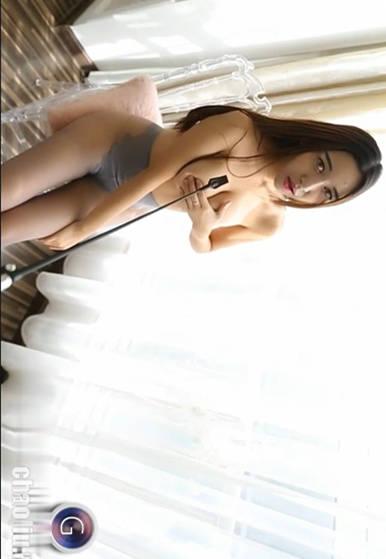 魅惑网袜!女神李梓熙火辣床上调教!果哥出品