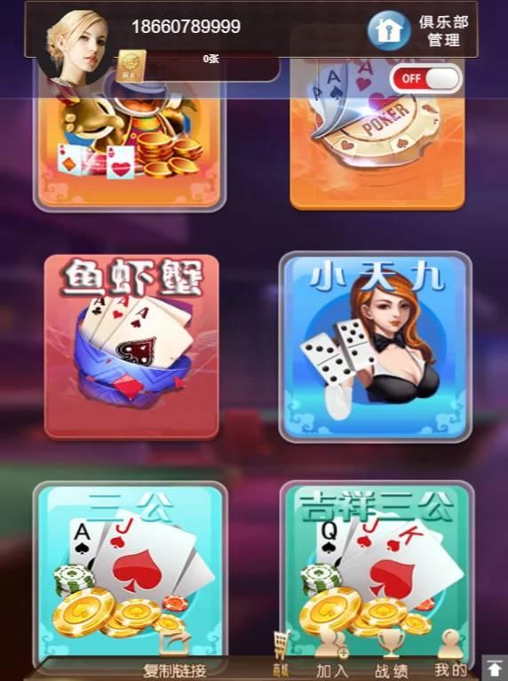 小苏H5大联盟4.0版本棋牌游戏源码/带机器人/带教程/可封装APP插图2