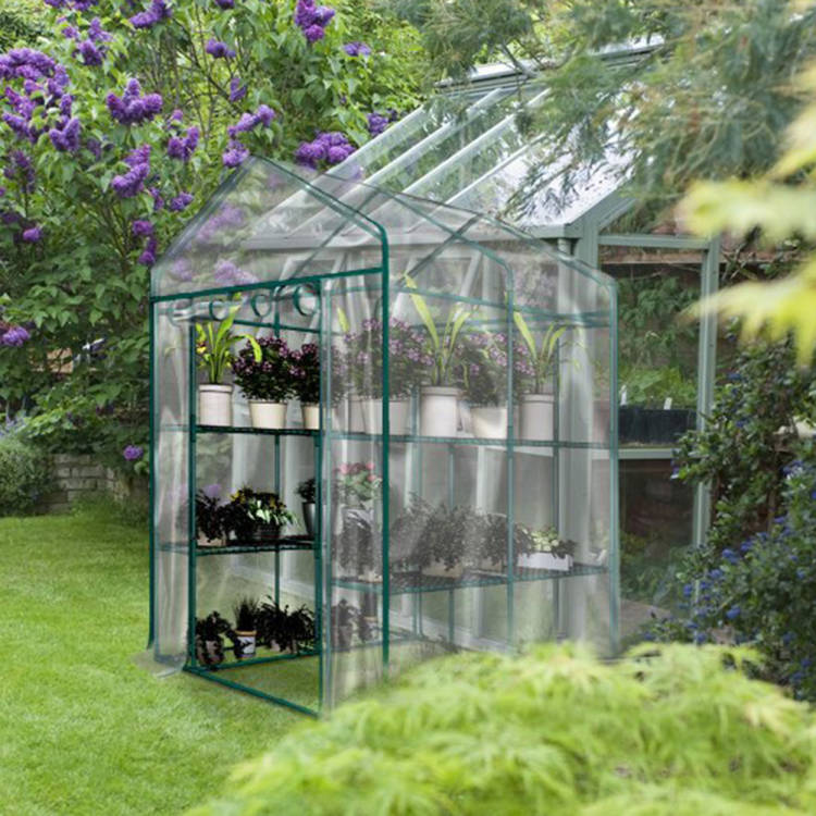 Shed Pvc Plants Warmhouse Garden Tier Greenhouse Cover