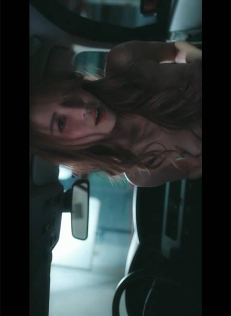 【初章】绝美情妇「艾比」酒后车内の淫欲纪实 JVID